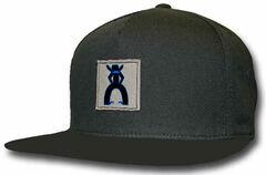 HOOey Men's Punchy Black Trucker Hat, , hi-res