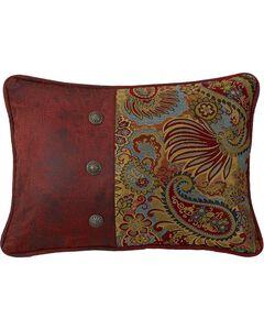 HiEnd Accents San Angelo Paisley Pillow, , hi-res