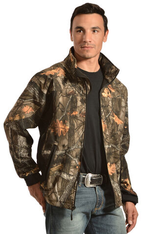 Red Ranch Men's Camo Bonded Fleece Jacket, Camouflage, hi-res