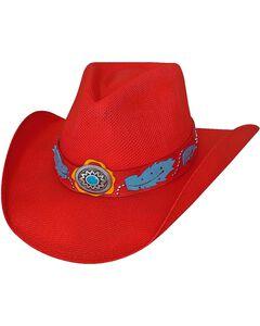 Bullhide Wild One Bangora Straw Cowgirl Hat, , hi-res