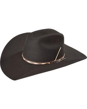Resistol Men's Black Amarillo Sky 4X Wool Hat , Black, hi-res