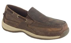 Rockport Works Sailing Club Boat Shoes - Steel Toe, , hi-res
