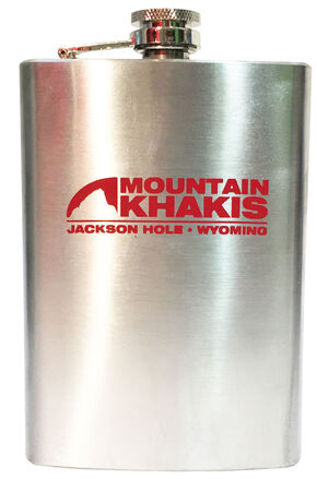 Mountain Khakis Stainless Steel Bison Flask, Steel, hi-res