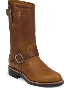 "Chippewa Women's Renegade 11"" Engineer Boots - Round Toe, , hi-res"
