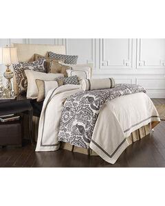 HiEnd Accent Khaki Augusta Four-Piece Bedding Collection, Super Queen, , hi-res