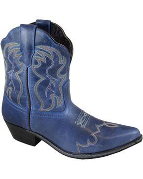 Smoky Mountain Women's Juniper Western Boots - Snip Toe , Indigo, hi-res