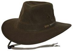 Outback Trading Co. Oilskin River Guide Hat, , hi-res