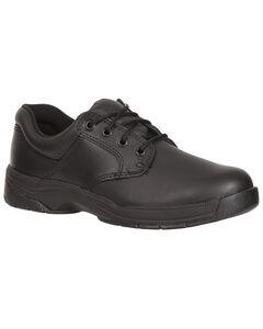 Rocky Women's SlipStop Plain Toe Oxford Duty Shoes, , hi-res