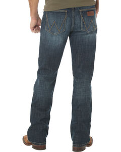 Wrangler Retro Slim Fit Dark Wash Boot Cut Jeans - Big and Tall, , hi-res