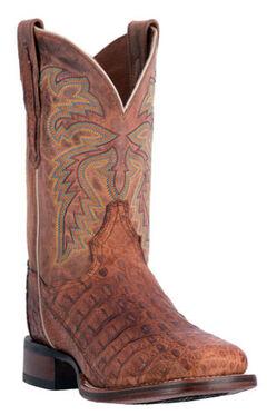 Dan Post Men's Denver Caiman Cowboy Boots - Square Toe, , hi-res