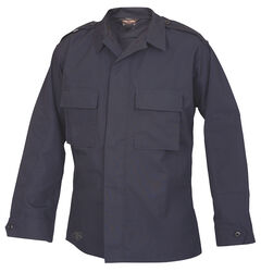 Tru-Spec Men's Navy Long Sleeve Tactical Shirt , , hi-res