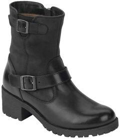 Eastland Women's Black Belmont Boots , , hi-res