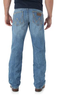 Wrangler Retro San Antonio Bootcut Jeans - Relaxed Fit, Lt Denim, hi-res