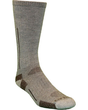 Carhartt Grey Full Cushion All Terrain Boot Socks, Grey, hi-res
