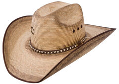 Charlie 1 Horse Comanche B 15X Straw Western Hat, , hi-res