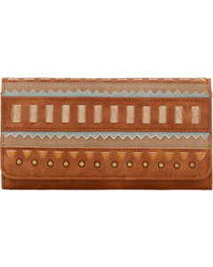 Bandana by American West Women's El Dorado Flap Wallet, , hi-res