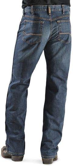 Ariat Denim Jeans - Heritage Dark Stonewash Relaxed Fit, , hi-res