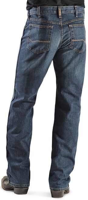 Ariat Denim Jeans - Heritage Dark Stonewash Relaxed Fit, Dark Stone, hi-res