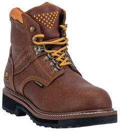 Dan Post Gripper Zipper Waterproof Lacer Boots - Steel Toe, , hi-res