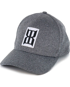 BEX Men's Moisture Wicking Ball Cap, Heather Grey, hi-res