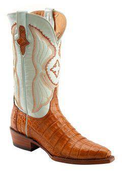 Ferrini Cognac Caiman Belly Cowgirl Boots - Snip Toe, , hi-res
