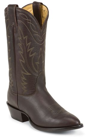 Nocona Deertan Cowboy Boots - Medium Toe, Brown, hi-res