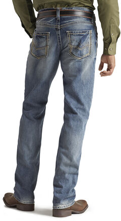 Ariat M5 Ridgeline Medium Wash Jeans, , hi-res