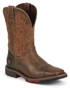 Justin Hybred Work Boots - Composite Toe, , hi-res