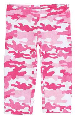 Wrangler Infant Girls' Pink Camo Leggings, , hi-res
