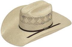 Twister Men's 8X Sisal Straw Cowboy Hat, , hi-res