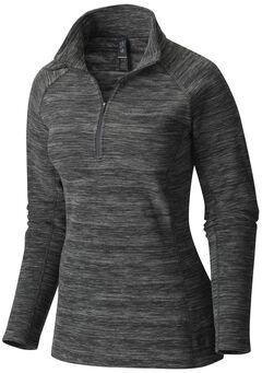 Mountain Hardwear Women's Snowpass Fleece, Black, hi-res