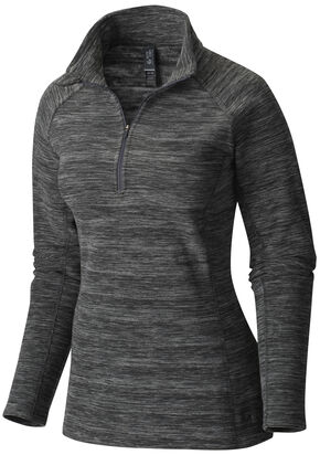 Mountain Hardwear Women's Snowpass Fleece, Black, hi-res