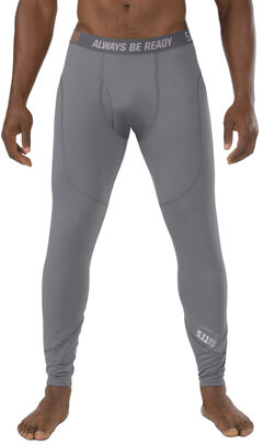 5.11 Tactical Men's Sub Zero Leggings, Storm, hi-res