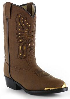 Cody James Youth Boys' Phoenix Western Boots - Medium Toe, , hi-res