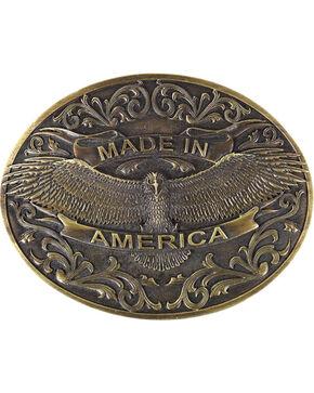 Cody James® Men's Made In America Belt Buckle, Bronze, hi-res