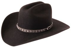 Silverado Fancy Cattleman Wool Felt Cowboy Hat, , hi-res