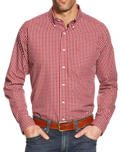 Ariat Men's Zach Wrinkle Free Long Sleeve Shirt, , hi-res