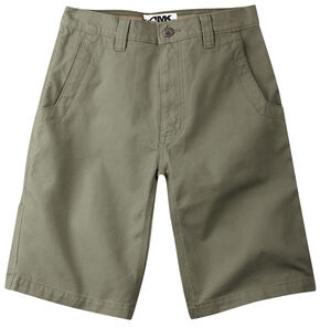 "Mountain Khakis Men's Alpine Relaxed Fit Utility Shorts - 7"" Inseam, Green, hi-res"
