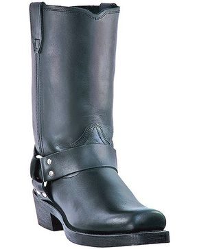 Dingo Jay Harness Boots - Snoot Toe, Black, hi-res