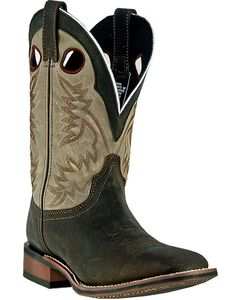 Laredo Collared Cowboy Boots - Square Toe, , hi-res