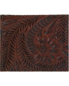 American West Boyfriend Ladies Chestnut Brown Bi-Fold Wallet, , hi-res