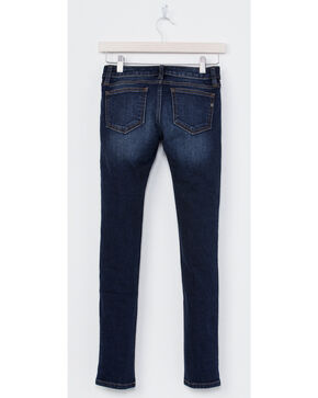 Miss Me Girls' Indigo Simple Style Jeans - Skinny , Indigo, hi-res