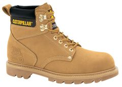 """Caterpillar 6"""" Second Shift Lace-Up Work Boots - Steel Toe, , hi-res"""