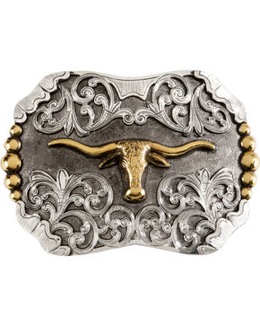 Stetson Craftsman's Alliance Limited Edition ZPT Stetson Buckle, Silver, hi-res