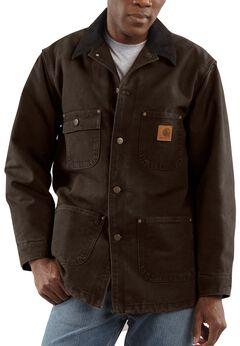 Carhartt Sandstone Chore Coat, , hi-res