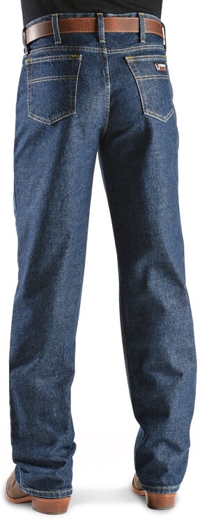 "Men's Cinch ® Jeans White Label Flame Resistant - 38"" inseam, Denim, hi-res"