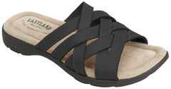 Eastland Women's Black Hazel Sandals , , hi-res
