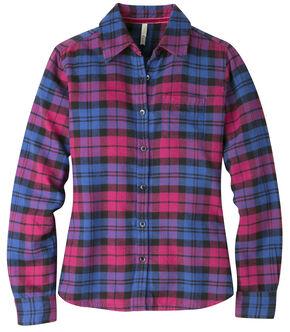 Mountain Khakis Women's Sangria Plaid Aspen Flannel Shirt , Pink, hi-res