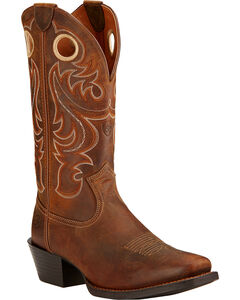 Ariat Men's Sport Cowboy Boots - Square Toe, , hi-res