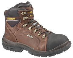 """Caterpillar 6"""" Manifold Waterproof Lace-Up Work Boots - Steel Toe, , hi-res"""